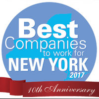 Best Companies to work for in New York 2017